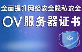 OV服务器证书